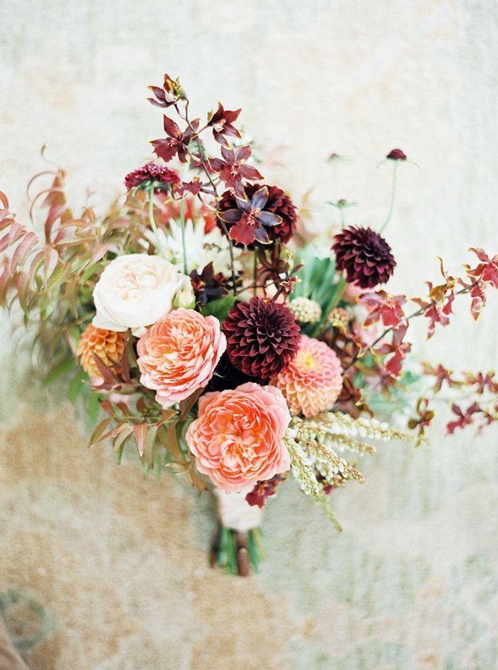 Wedding - Laid-back Fall Vineyard Wedding In California - Once Wed