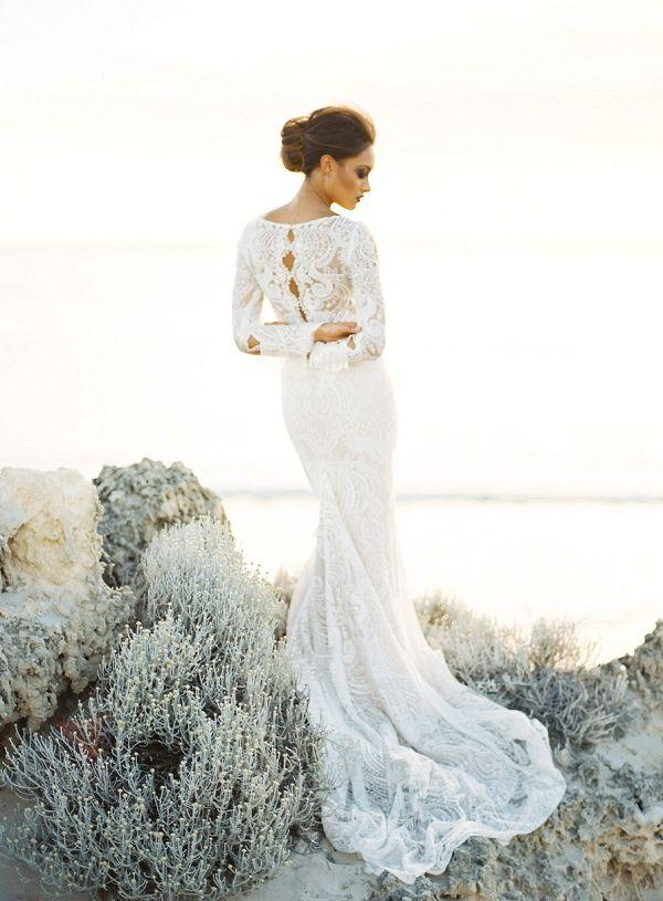 Hochzeit - Beach Weddings From Aisle Society