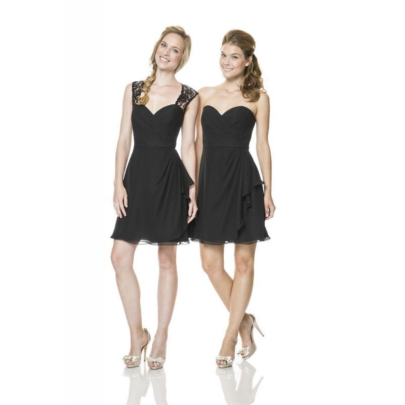 Hochzeit - Black Bari Jay L-1513 Bari Jay Bridesmaids - Rich Your Wedding Day