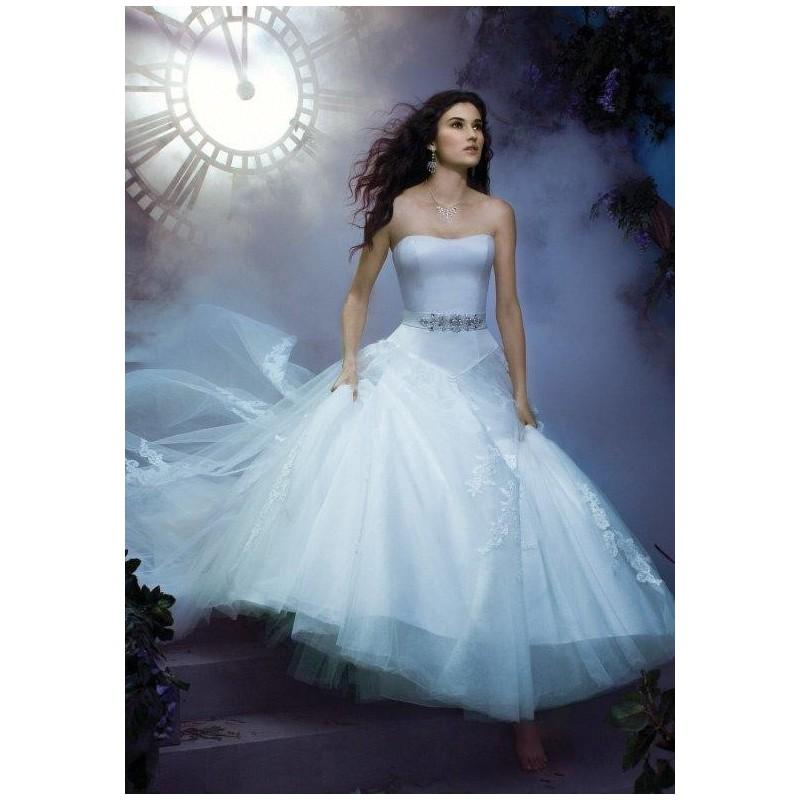 Disney Fairy Tale Weddings By Alfred Angelo 226 Wedding Dress - The ...