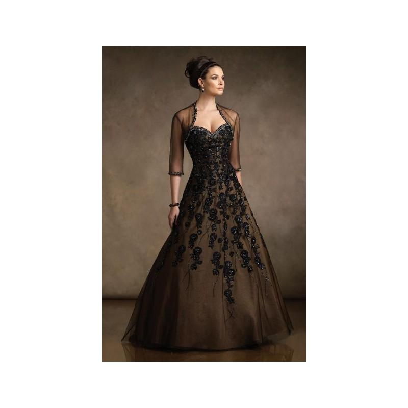 Mother Of The Bride Ball Gown R21044 By Rina Di Montella - Brand ...