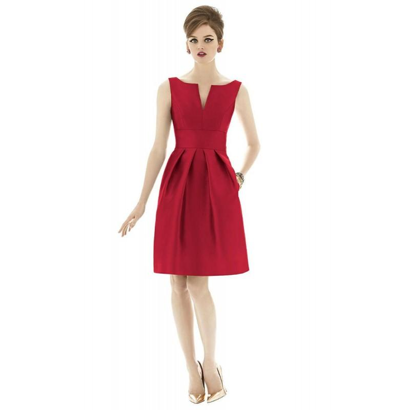 Wedding - Flame Alfred Sung Bridesmaids by Dessy D654 - Brand Wedding Store Online