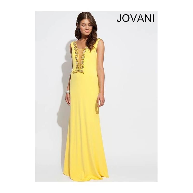 Wedding - Jovani 77652 Enchanting Evening Gown - 2018 Spring Trends Dresses