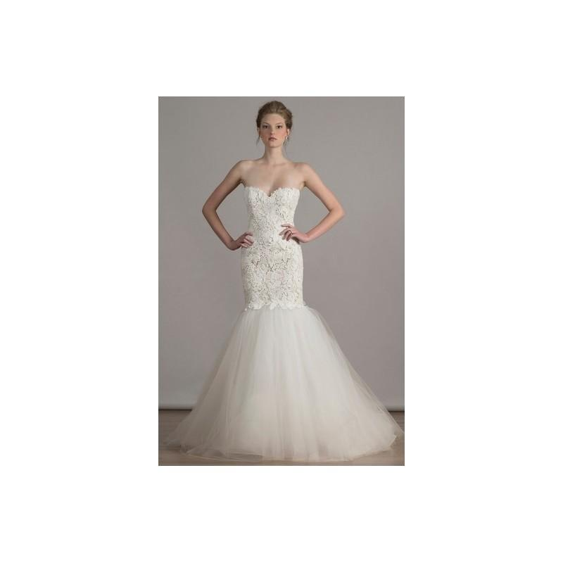 50175e301930 Liancarlo Spring 2016 Wedding Dress 5 - Spring 2016 White Fit and Flare  Sweetheart Liancarlo Full Length - Rolierosie One Wedding Store