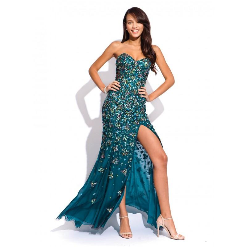 Jovani 73075 Teal Prom Dress 2018 Spring Trends Dresses 2814153