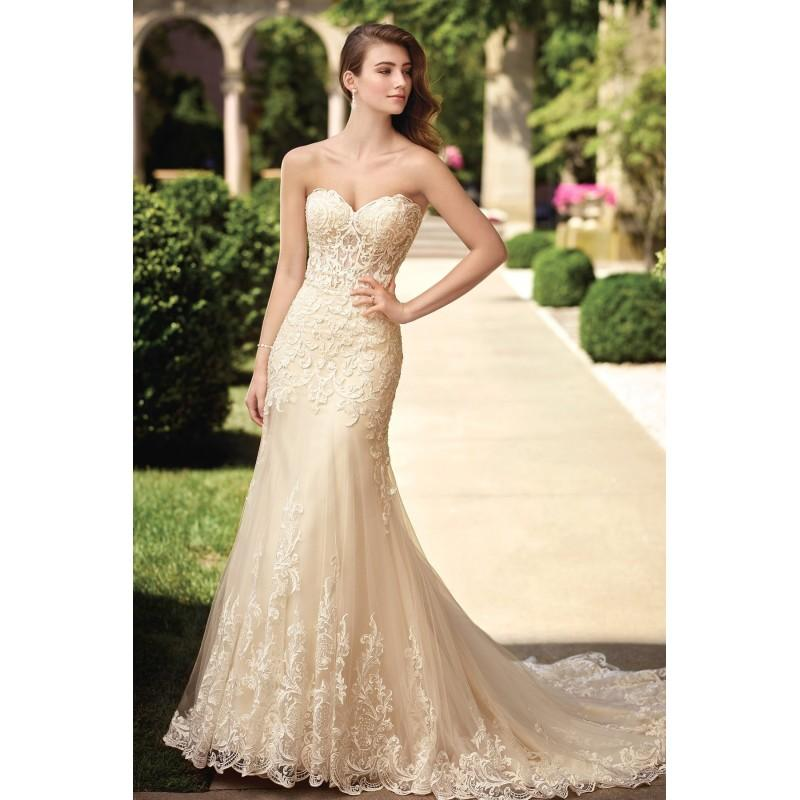 Style 117278 By David Tutera For Mon Cheri Gold Ivory Champagne