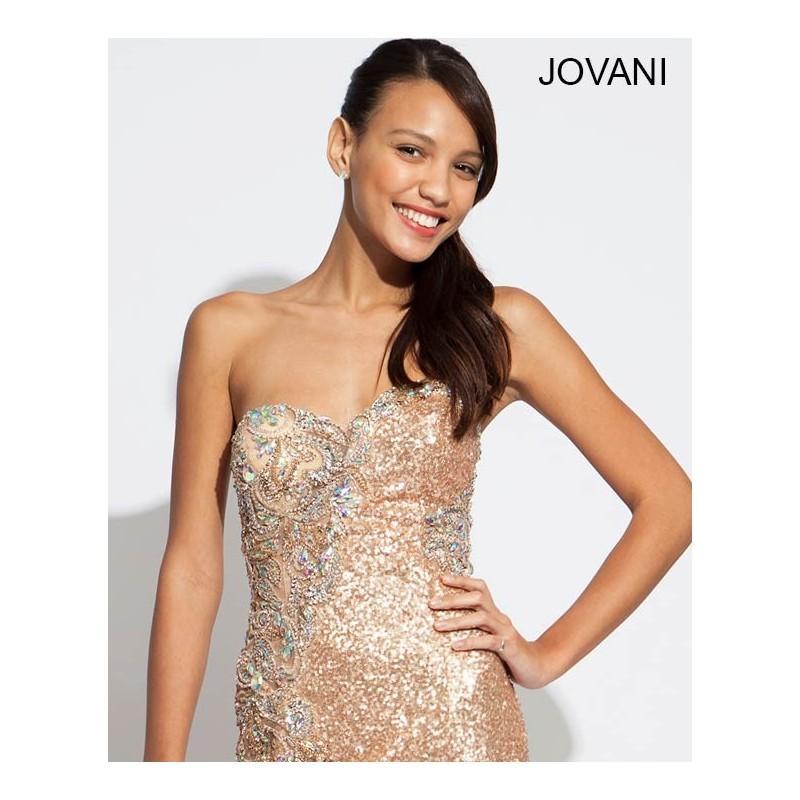 Wedding - Jovani 89660 - 2018 Spring Trends Dresses