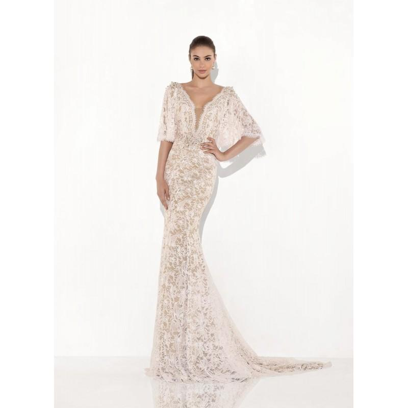 Wedding - Pink Tarik Ediz 92807 - Brand Wedding Store Online
