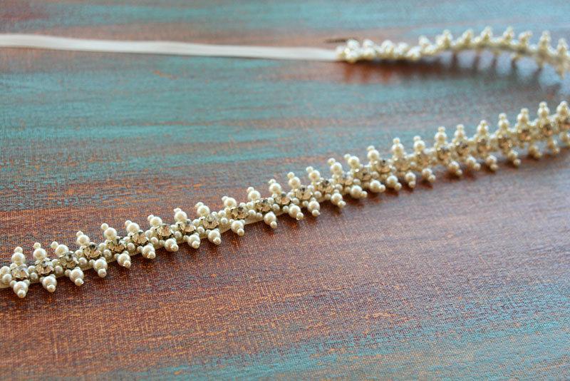 Wedding - Wedding Dress Belt Pearl, Wedding Belts and Sashes, Pearl Belt for Wedding Dress, Bridal Sashes Belts, Pearl and Rhinestone Belt, Belt Pearl - $79.00 USD