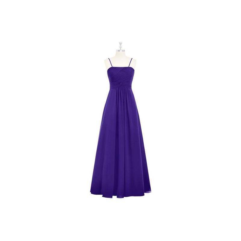Wedding - Regency Azazie Imogene - Floor Length Straight Back Zip Chiffon Dress - Simple Bridesmaid Dresses & Easy Wedding Dresses