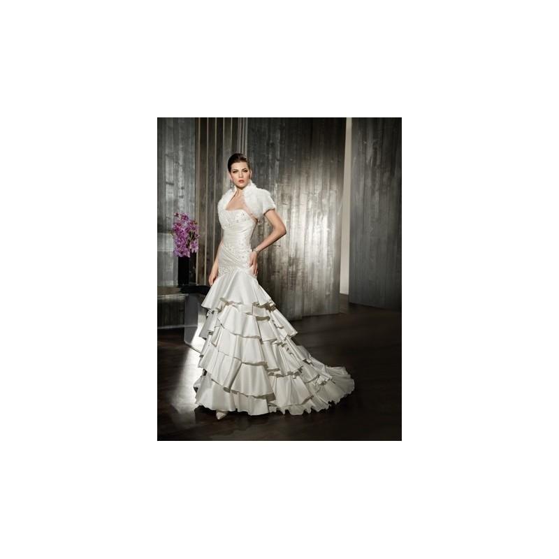 style 7535 (cosmobella) - vestidos de novia 2018 #2814573 - weddbook
