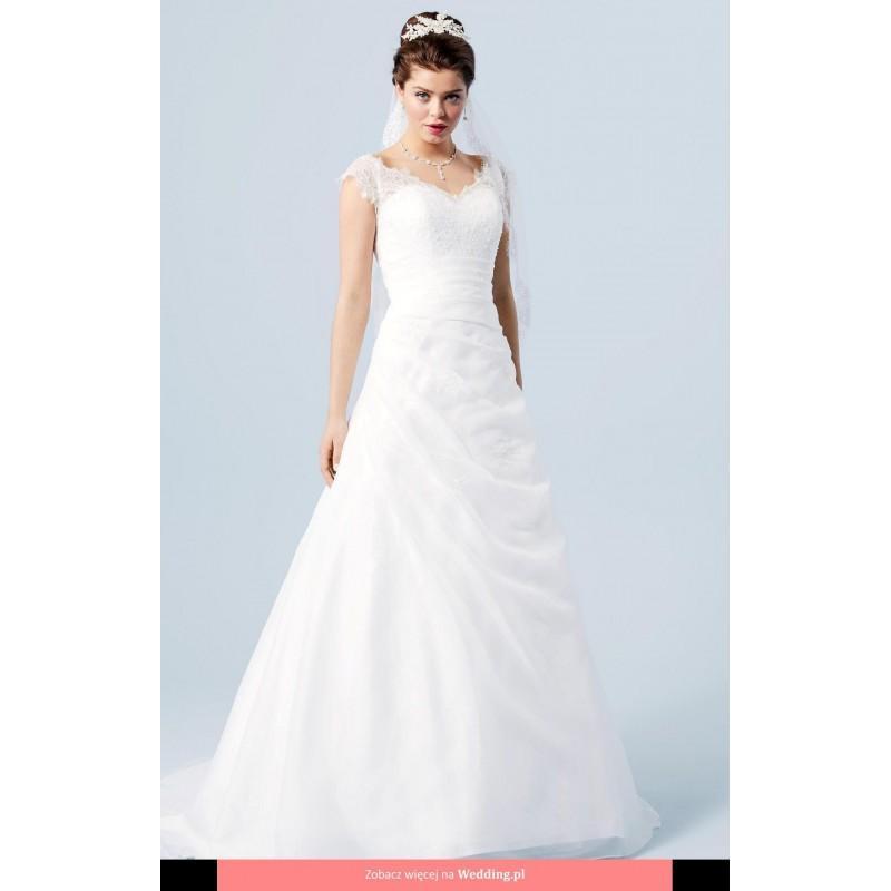 Wedding - Lilly - 08 - 3704 - CR Lilly 2017 Floor Length V-neck Classic Short sleeve Long - Formal Bridesmaid Dresses 2018