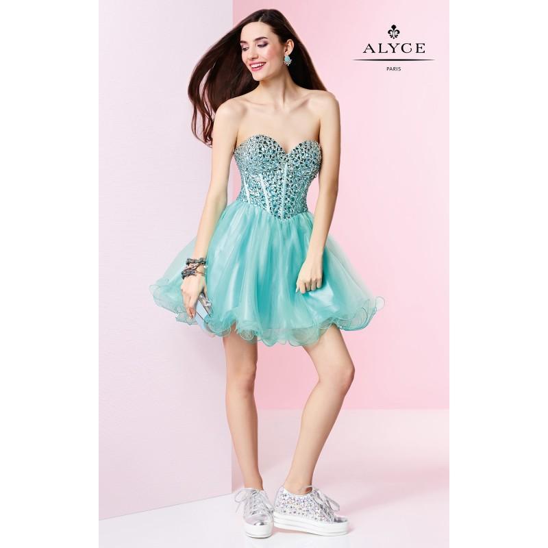 Wedding - Black Alyce Paris 3644 - Corset Back Dress - Customize Your Prom Dress