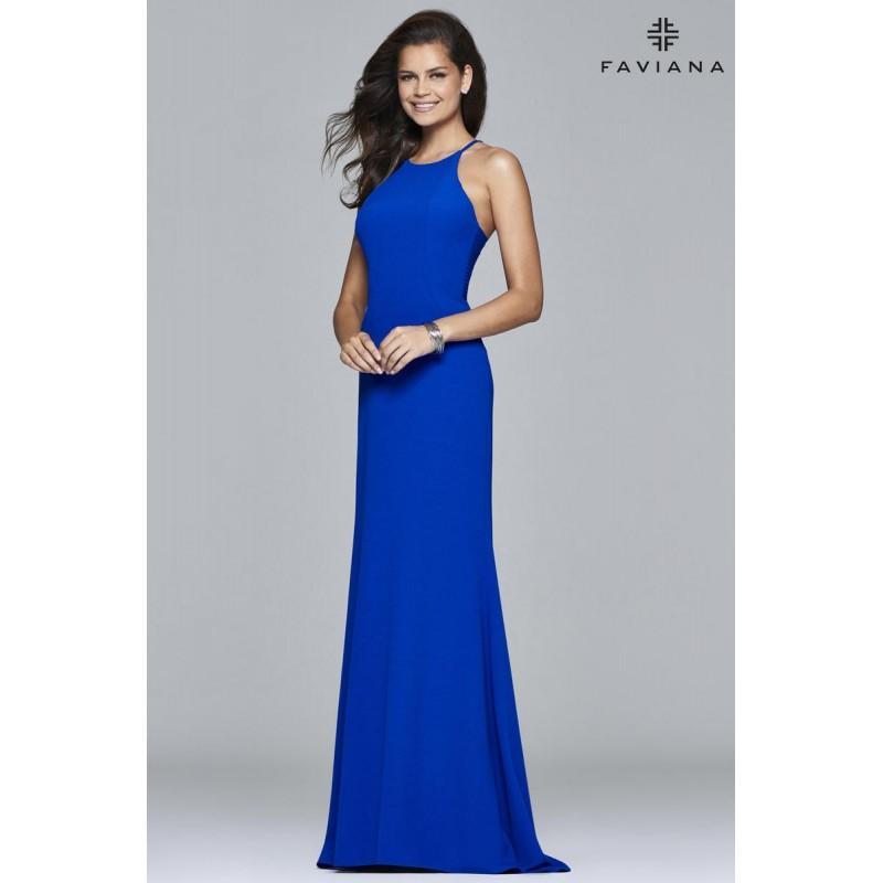 Wedding - Black Faviana Glamour S7913 - Brand Wedding Store Online