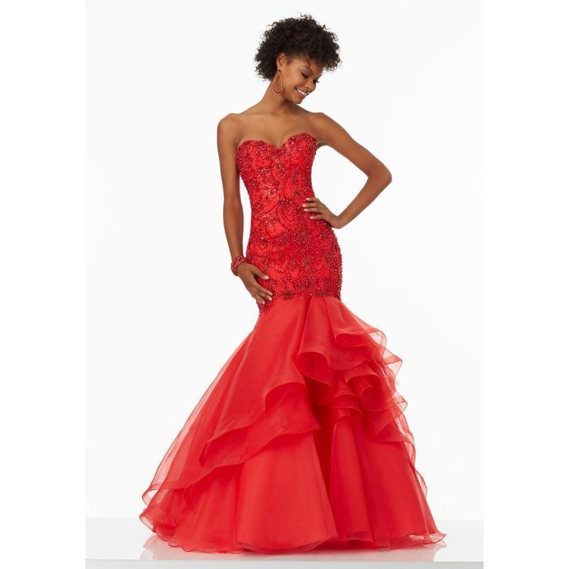 Wedding - Champagne Morilee Prom 99021 - Brand Wedding Store Online
