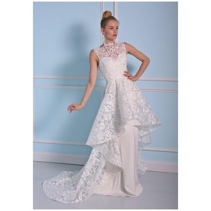 Christian Siriano For Kleinfeld Bss17 17042 A Line Illusion