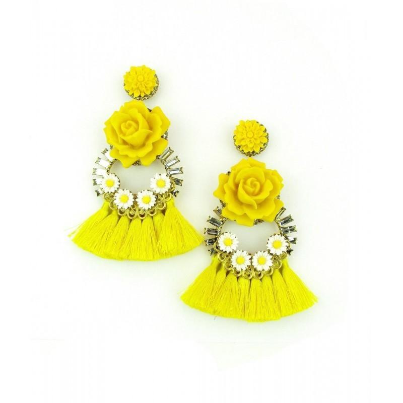 Wedding - Elizabeth Cole Jewelry - Halona Earrings - Designer Party Dress & Formal Gown