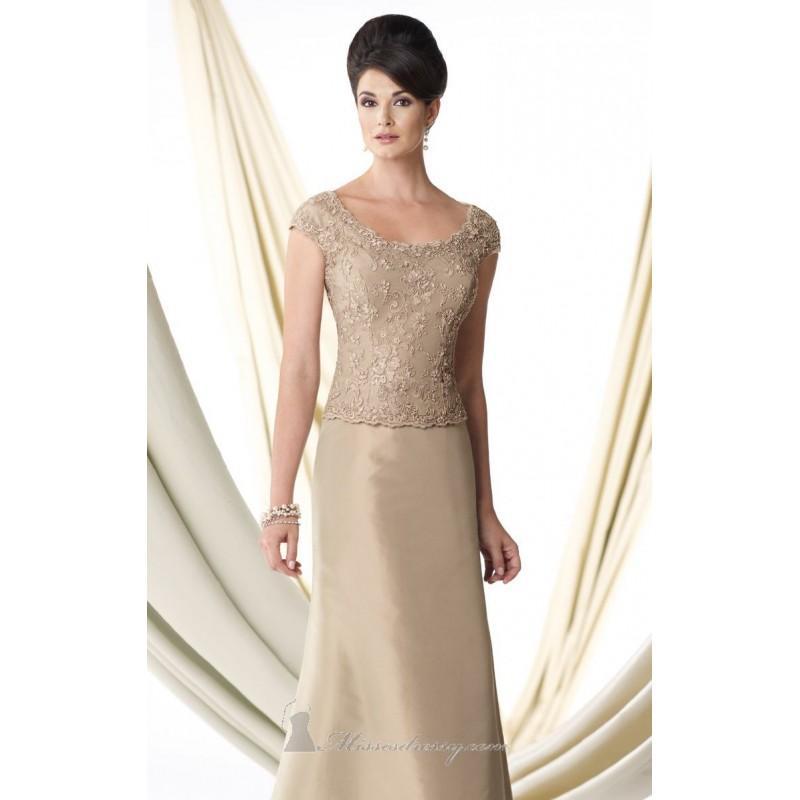 Wedding - Silk Taffeta Gown by Ivonne D Exclusively for Mon Cheri 114D41 - Bonny Evening Dresses Online