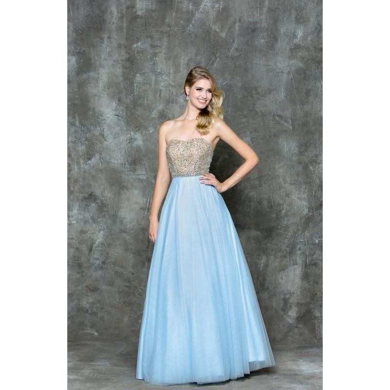 Wedding - Glow by Colors - G721 Bejeweled Sweetheart Ballgown - Designer Party Dress & Formal Gown