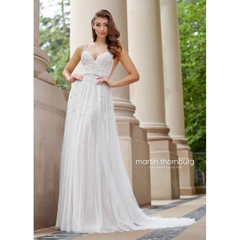 Mon Cheri Wedding Dresses: Martin Thornburg For Mon Cheri 118254 Stanza Open Back