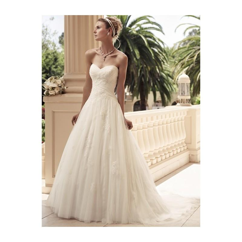 Wedding - Casablanca Bridal 2108 Soft Lace Wedding Dress - Crazy Sale Bridal Dresses