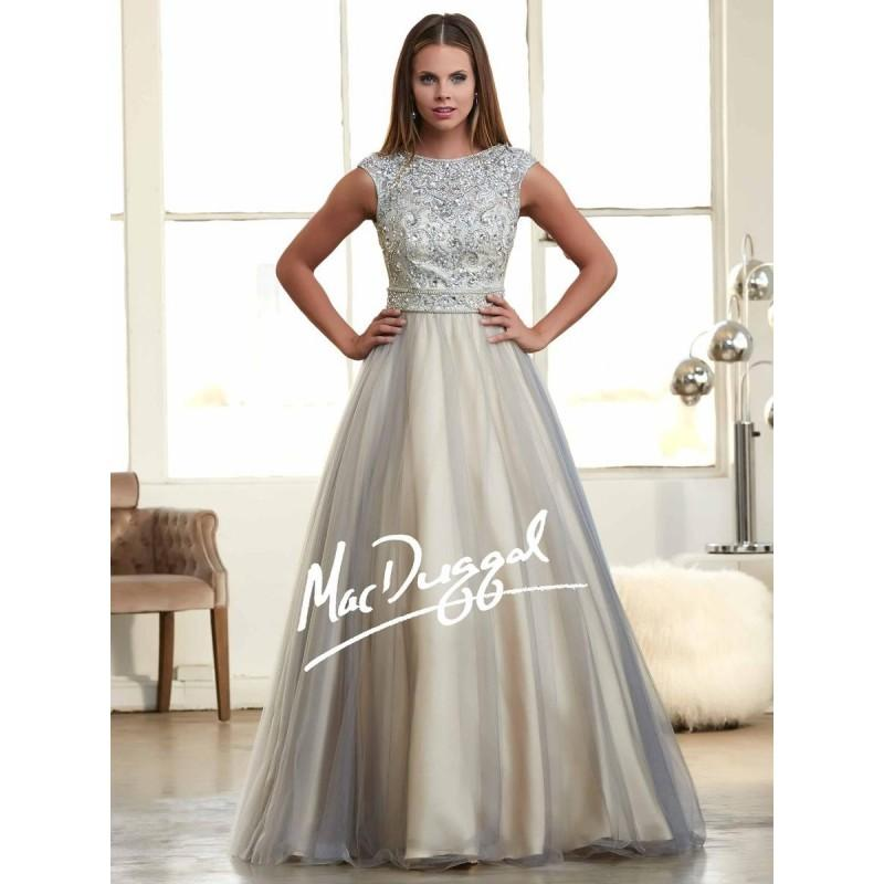 Wedding - Mac Duggal 82369H Graceful Ball Gown - Brand Prom Dresses