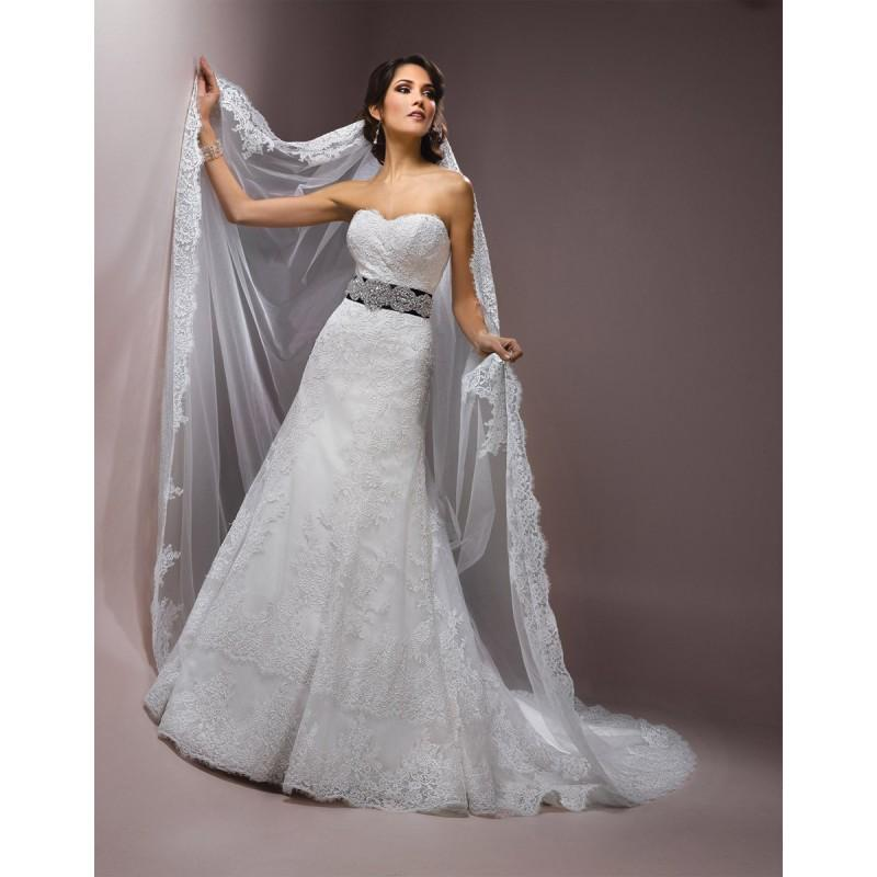 Hochzeit - Sottero and Midgley Maggie Bridal by Maggie Sottero Presca-J1451V - Fantastic Bridesmaid Dresses
