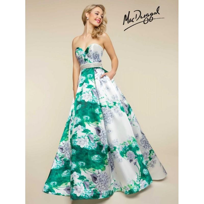 Wedding - Ball Gowns by Mac Duggal 66044H - Branded Bridal Gowns
