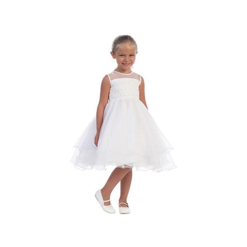Tip Top 5506 Organza Flower Girls Dress - Brand Prom Dresses ...
