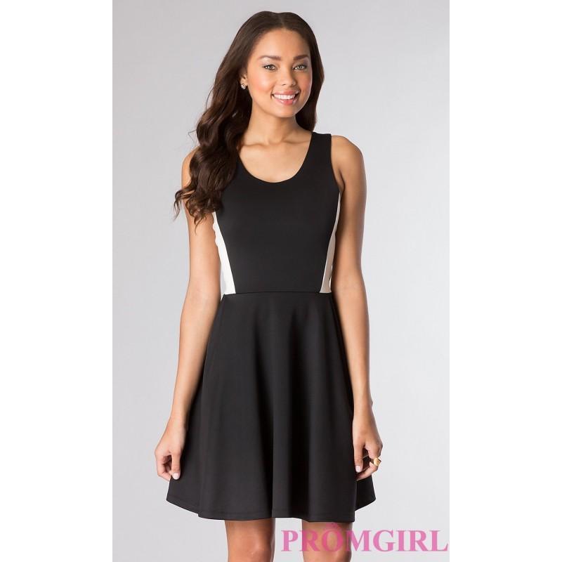 d8fccb68306161 Short Black Sleeveless Dress - Brand Prom Dresses  2815181 - Weddbook