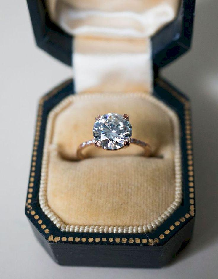 Mariage - 56 Simple Engagement Ring For Girls Who Love