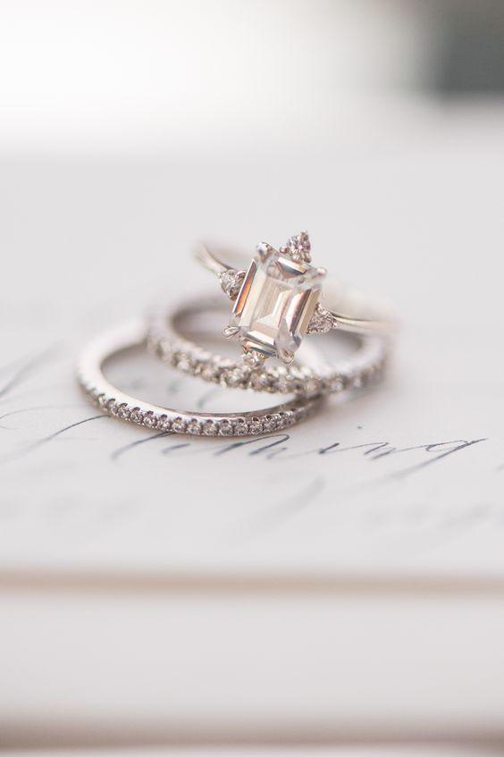 Wedding - LOVE LOVE LOVE THESE RINGS...MAYBE SOMEDAY...HA HA.....JUST KIDDING YA
