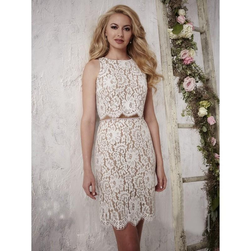 Christina Wu 22696 Bridesmaid Dress 2 Pc Bridesmaids Short Jewel 2018 New Wedding Dresses