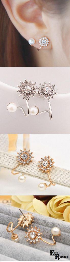 Свадьба - Flake Earrings