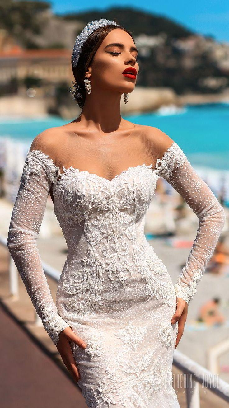 "Свадьба - Katherine Joyce 2018 Wedding Dresses — ""Ma Cherie"" Bridal Collection"