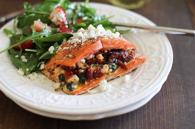 Boda - How To Cook Stuffed Salmon