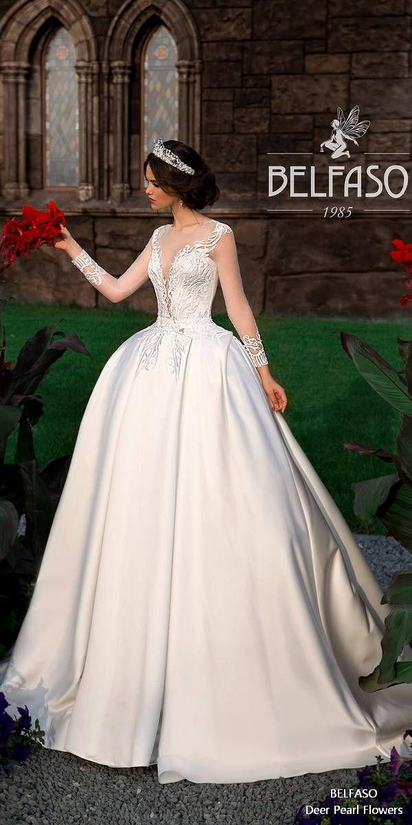 Mariage - Long Sleeves Wedding Dresses From BELFASO