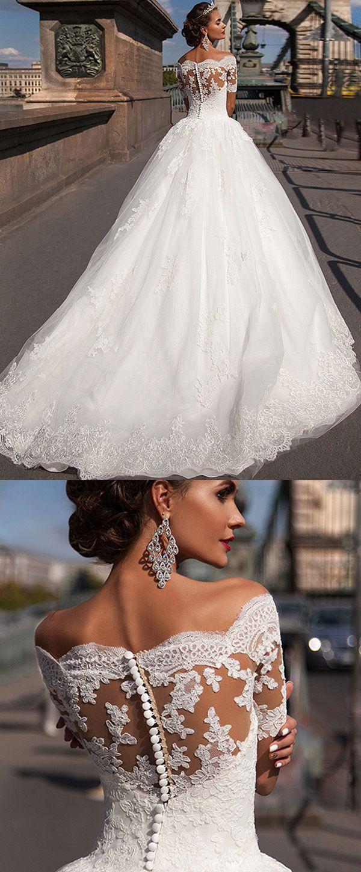 Wedding - 40  Beste Weg Von Der Schulter Brautkleider