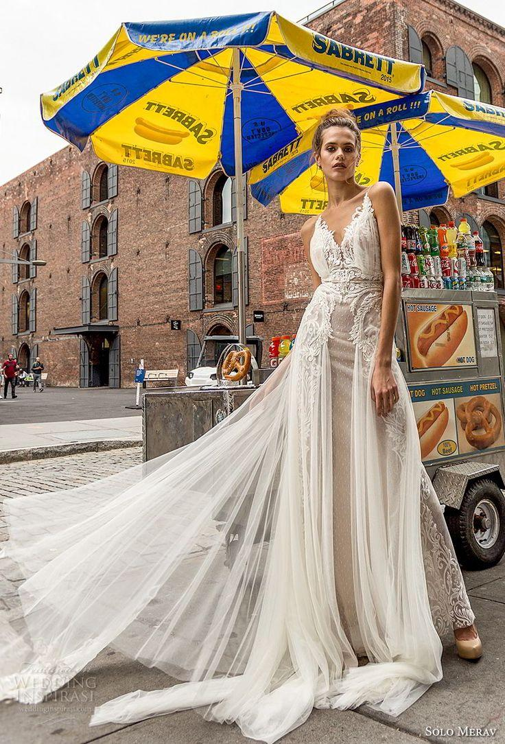 "Wedding - Solo Merav 2018 Wedding Dresses — ""White Princess"" Bridal Collection"