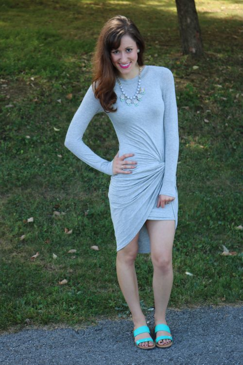 Свадьба - Grey Draped Dress, Ten Ways