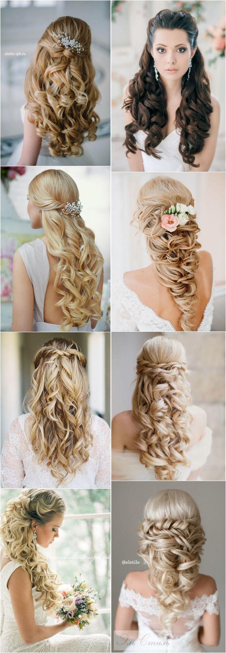 15 Stunning Half Up Half Down Wedding Hairstyles With Tutorial ...