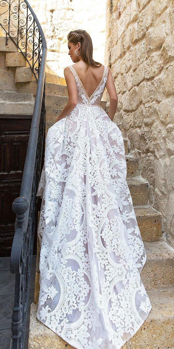 Mariage - 21 Fascinating Open Back Wedding Dresses