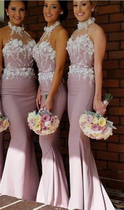 Свадьба - Brautjungfernkleider lang