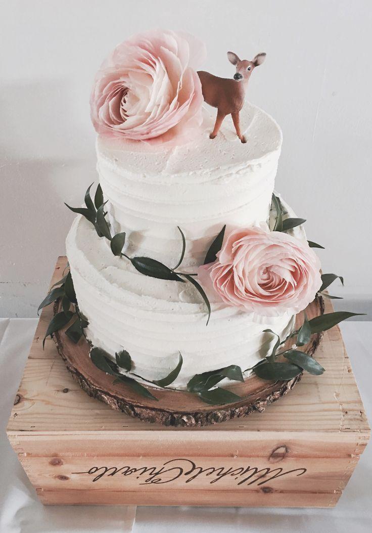 زفاف - Deer Cake Topper