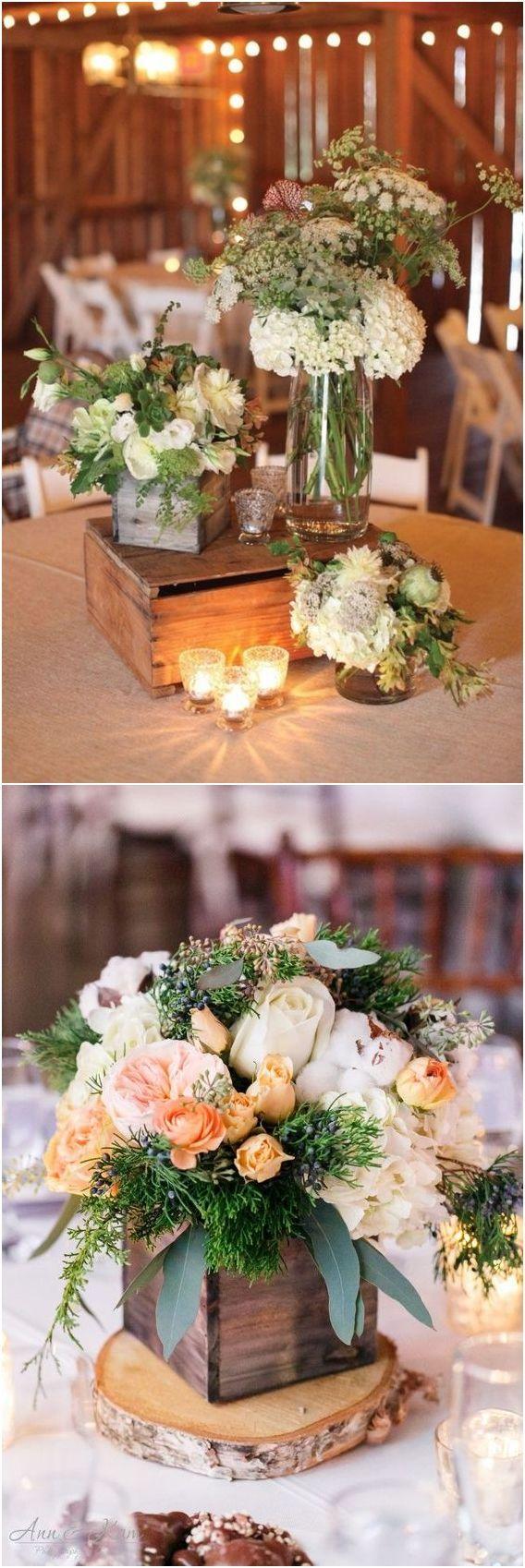 Hochzeit - Rustic Woodsy Wedding Trend 2018: Wooden Crates