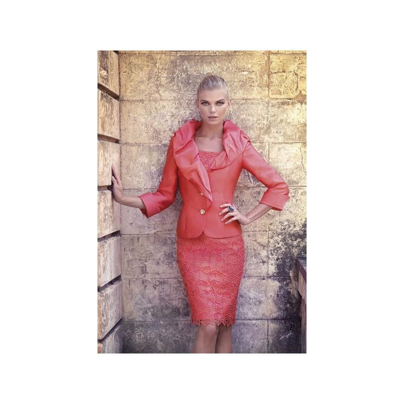 Vestido De Fiesta De Carla Ruiz Modelo 90090 - 2014 Vestido - Tienda ...