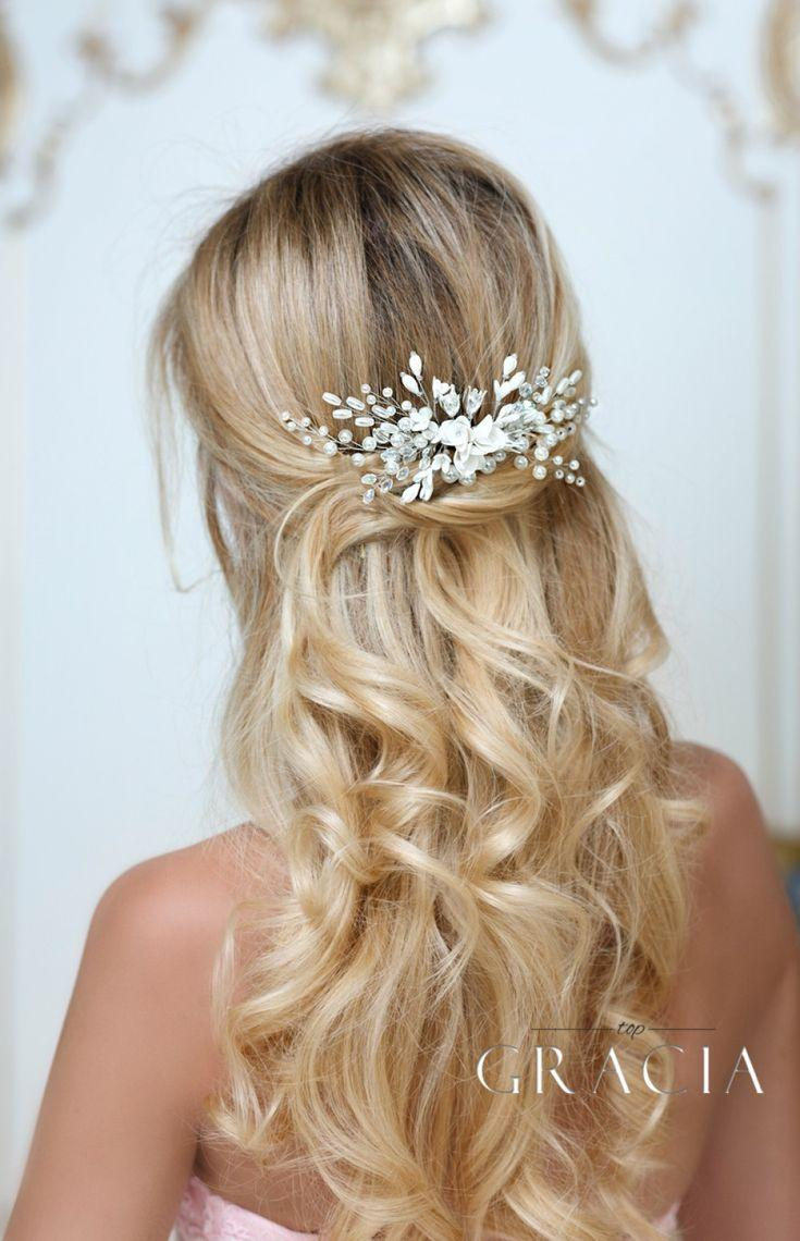 Wedding - ALEXA Bridal Hair Comb Pearl Wedding Comb