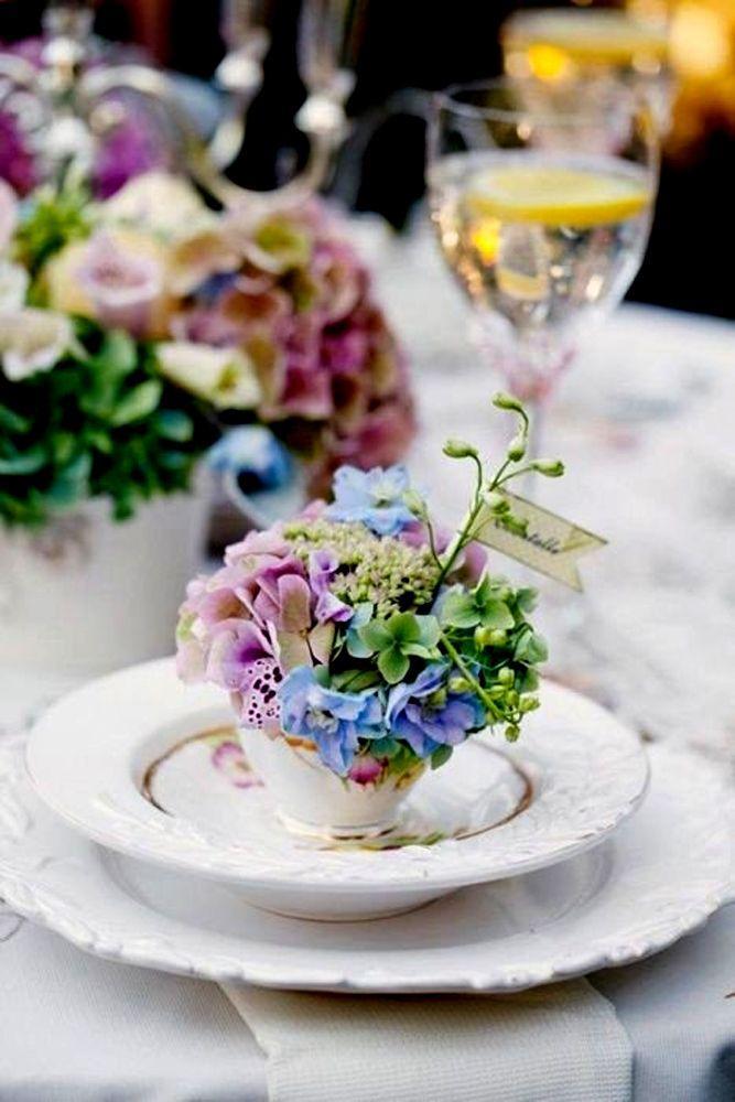 Hochzeit - 21 Vintage Teapot And Teacup Wedding Ideas