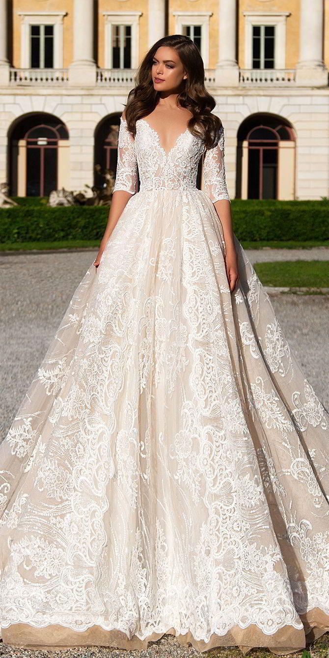 Hochzeit - Milla Nova 2017 Wedding Dresses White Desire Collection