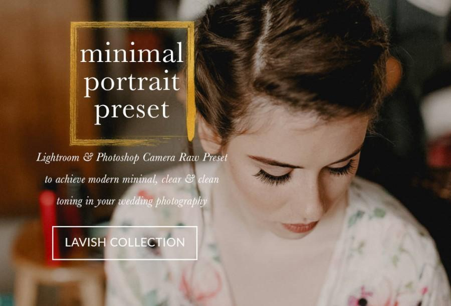 Свадьба - Minimal Portrait And Stills Wedding Lightroom And Photoshop Preset Professional Wedding Presets - The Lavish Collection For Lr & Ps ACR